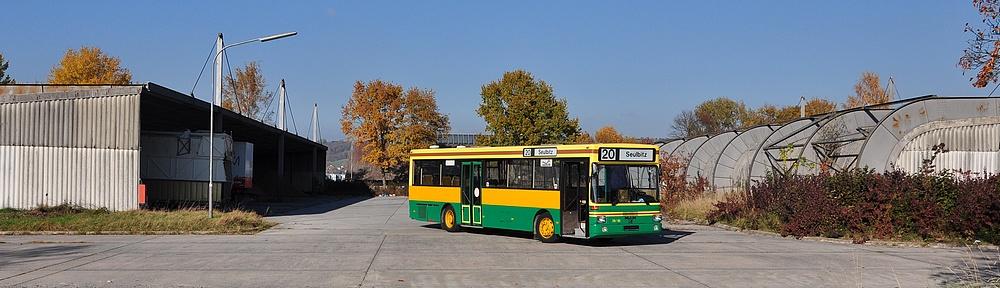 Unser Museumsbus als Repräsentant der Standard 2-Fahrzeuge