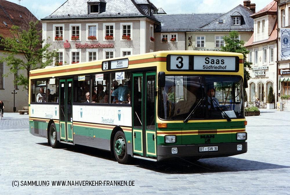 Wagen 16 im Sommer 1991