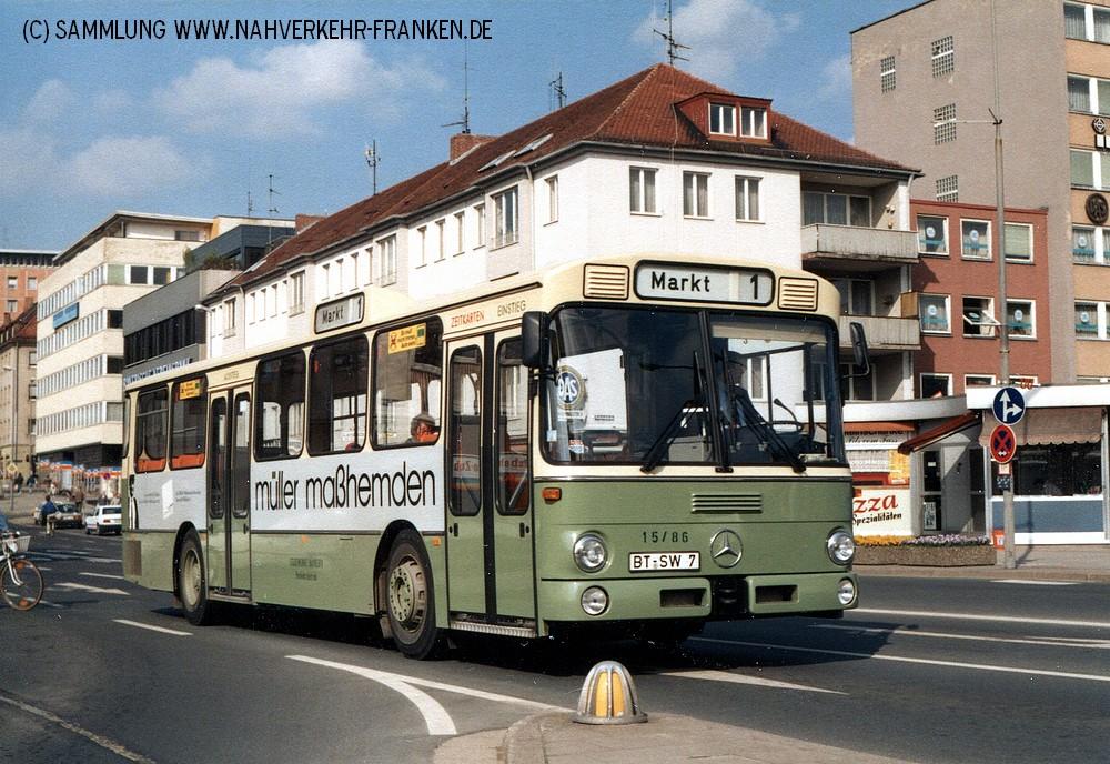 Wagen 7 im Jahr 1988